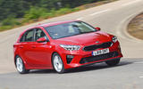 Kia Ceed 2018 road test review front cornering