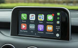 Kia Stinger GT line 2018 review infotainment CarPlay
