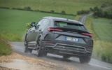 Lamborghini Urus 2019 road test review - on the road rear