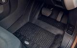 Land Rover Defender 2020 road test review - floor rubber