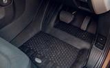 Land Rover Defender 2020 road test review - floor rubber