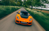 23 Lotus Exige Spot 390 Final 2021 RT on road nose