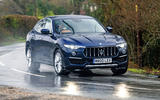 Maserati Levante S GranLusso 2019 road test review - on the road front