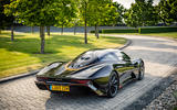 McLaren Speedtail 2020 UK first drive review - static rear
