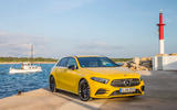Mercedes-AMG A35 2018 review - static front