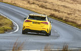Mercedes-AMG A45 S 4Matic+ 2020 road test review - on the road rear