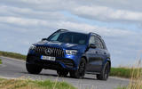Mercedes-AMG GLE 53 2020 road test review - cornering front