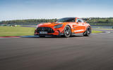 Mercedes-AMG GT Black Series road test review - on track low