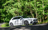 Mercedes-Benz A250e 2020 road test review - on the road front