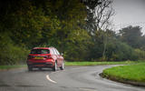 MG 5 SW EV 2020 Road test review - on the road rear