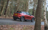 Nissan Juke 2020 road test review - on the road rear