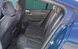 Peugeot 508 2018 road test review - rear seats