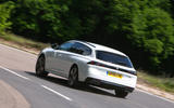Peugeot 508 SW 2019 review - cornering rear