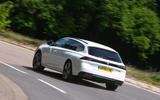Peugeot 508 SW 2019 review - cornering rear