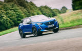 Peugeot e-2008 2020 road test review - on the road front