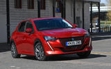 Peugeot e-208 2020 road test review - on the road front