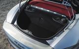 Porsche 718 Spyder 2020 road test review - rear boot