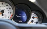 Porsche 911 GT2 RS 2018 road test review instrument cluster