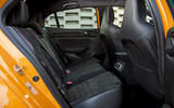 Renault Megane RS 280 2018 road test review rear seats