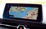 Toyota GR Supra 2019 road test review - navigation