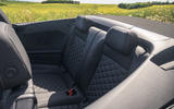 Volkswagen T-Roc Cabriolet 2020 road test review - rear seats