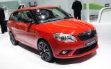 Geneva motor show: Skoda Fabia vRS