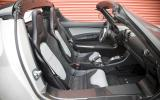 Tesla Roadster Sport interior