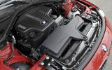 2.0-litre BMW 328i petrol engine