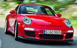 Porsche 911 GT3 Clubsport cornering