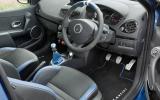 Renault Clio Gordini 200 dashboard
