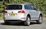 VW Touareg rear