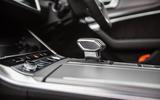 Audi A6 Avant 2018 road test review - gearstick