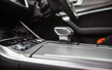 Audi A6 Avant 2018 road test review - gearstick