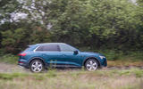 Audi E-tron 55 Quattro 2019 road test review - on the road side