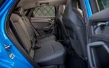 Audi RS Q3 Sportback 2020 road test review - rear seats