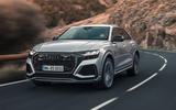 Audi RS Q8 2020 road test review - cornering front