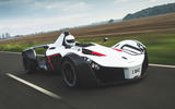 BAC Mono 2018 review - on the road front