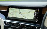 Bentley Continental GT 2018 Autocar road test review infotainment