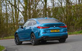 BMW 2 Series Gran Coupe 2020 road test review - cornering rear