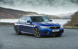 BMW M5 2018 review static