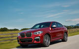 BMW X4 2018 road test review on the road