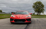 Corvette Stingray C8 2019 road test review - on the road front