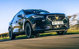 24 Cupra Formentor 2021 road test review on road front