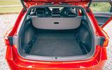 24 Cupra Leon Estate 2021 road test review boot