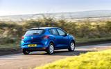 24 dacia sandero tce 90 2021 uk first drive review otr rear