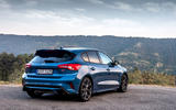 Ford Focus ST 2019 review - static rear