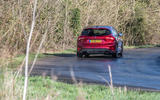 Ford Focus ST-line X 2019 road test review - cornering rear