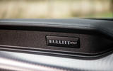 Ford Mustang Bullitt 2018 road test review - plaque