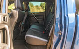 Ford Ranger Raptor 2019 road test review - rear seats