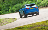 Jaguar F-Pace SVR 2019 road test review - OTR rear
